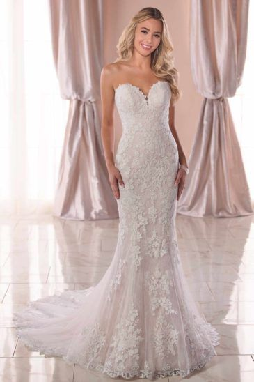 Discount Wedding Dresses Designer Wedding Dresses Vows Sweetheart Trouwjurk Trouwjurk Zeemeermin Lace Wedding Dress