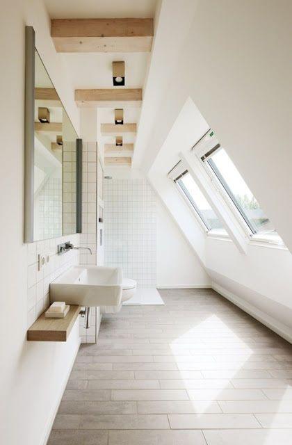Badezimmer mit dachschräge kein problem dachschräge badezimmer fliesen fliesenboden