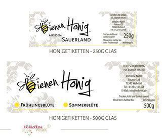 Pin Von Anette L Auf Honig Etiketten In 2020 Honig Etikette Honigglaser Etiketten