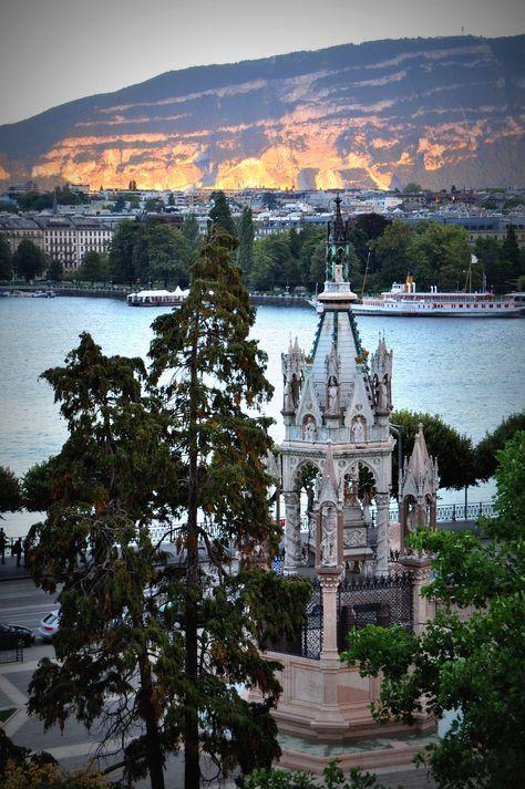 Beautiful Geneva http://www.travelandtransitions.com/destinations/destination-advice/europe/