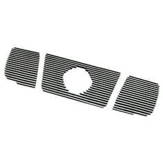 Paramount Restyling 34-0111 Overlay Billet Grille with 4 mm, White shell