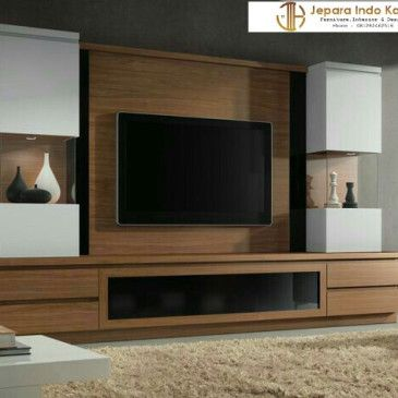 Backdrop Tv Hpl Minimalis Terbaru Tv Unit Furniture Modern Tv