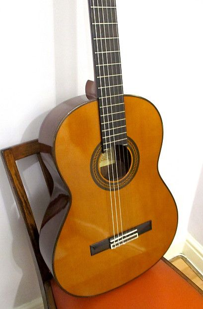 Yamaha 1980 Spruce Top Classical Guitar New Set Up Compensated Bone Saddle Mount Xiao Vintage Reverb Classical Guitar Acoustic Guitar Guitar