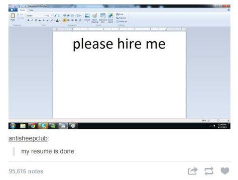 Resume Hilarious Pinterest Work humor, Hilarious and Humor - my resume