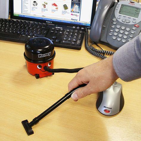 Mini Desktop Henry Vacuum