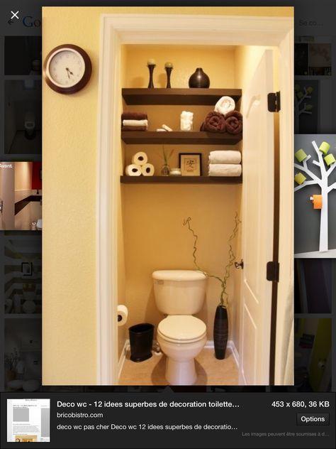 10 best projet toilette images on Pinterest Bathroom, Guest - glasbilder für badezimmer