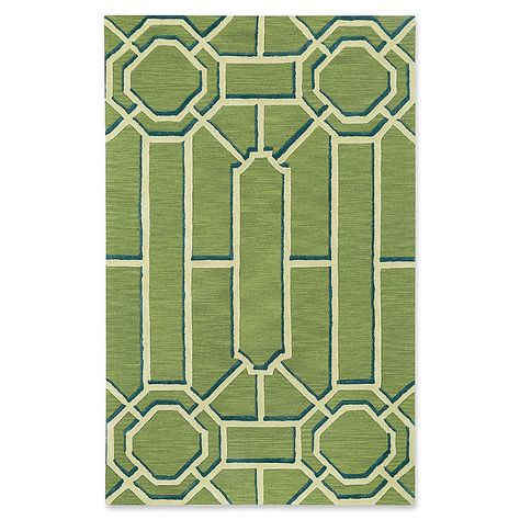 Capel Williamsburg Ironworks Style 8 X 10 Area Rug In Green
