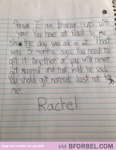 Breakup Letters That Will Make You Happy To Be Single  Humor