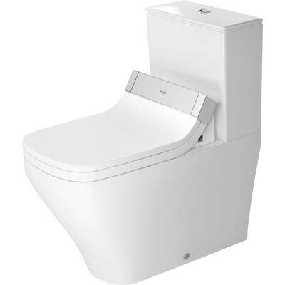 Duravit Durastyle 1 28 Gpf Water Efficient Elongated Two Piece Toilet Seat Not Included Duravit Toilet Bowl Smart Toilet