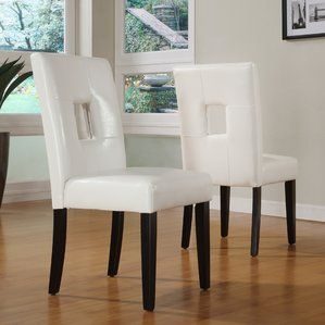 Belvin Keyhole Side Chair Set Of 2 By Mercury Row Dining