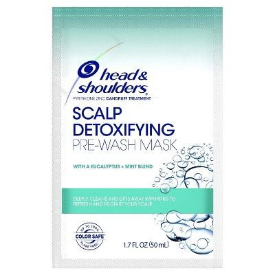 Head Shoulders Scalp Detoxifying Pre Wash Mask With Eucalyptus