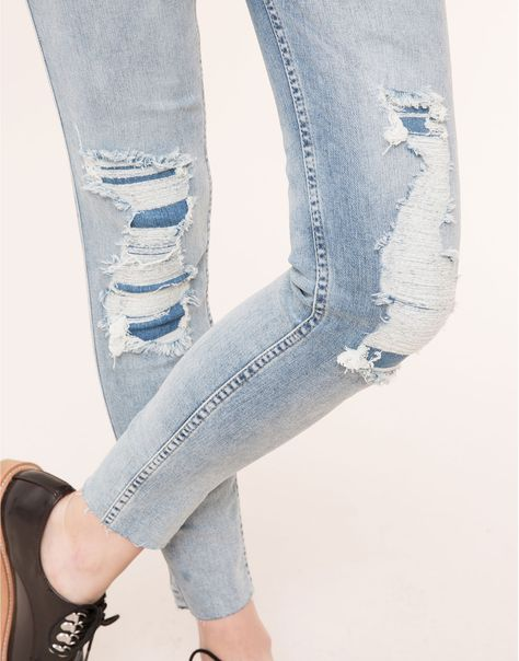 JEANS SLIM FIT - JEANS - MUJER - PULL&BEAR España