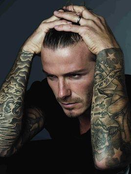 Nothing says sexy like David Beckham!