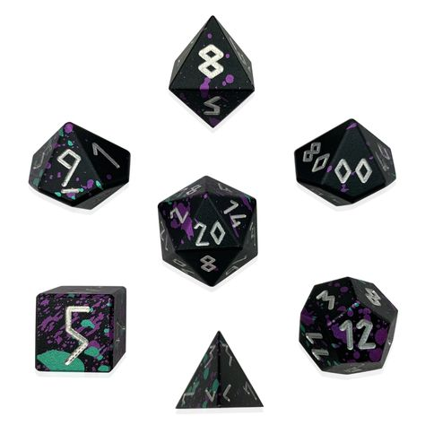 Set Of 7 Polyhedral Aluminum Cnc 6061 Precision Dice Norse Foundry Orange Books Magazines Toys Games Take bone dice from $300 at norse foundry. hec montreal