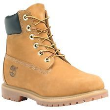 Womens Timberland Boots Construction Shoes Wheat Waterproof Leather 10361 fc1f51537e