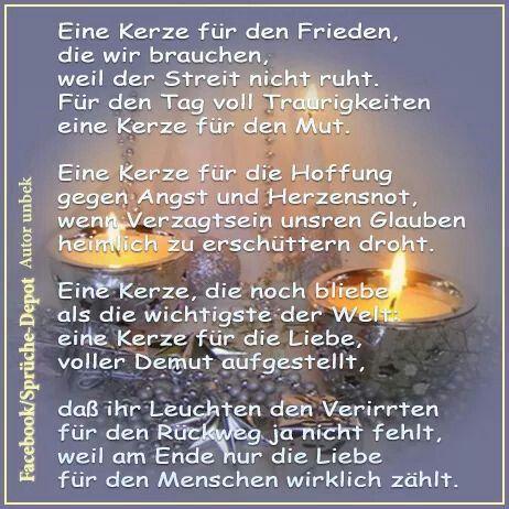 Spruch Weihnachten Kerze Bilder