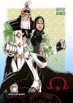 The Hawkeem Twins By Whytmanga Bleach Anime Manga Art Character Art