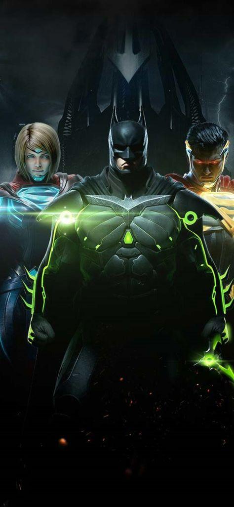 Injustice 2 Batman Superman And Supergirl Wallpapers | hdqwalls.com