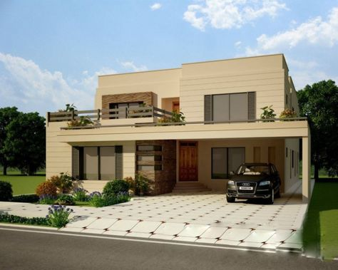 House Front Design - Google Search | Home Design | Pinterest