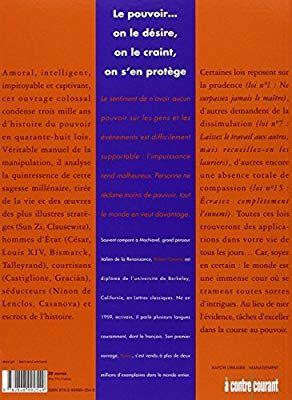 Les 48 Lois Du Pouvoir Pdf : pouvoir, Amazon.fr, Power, Pouvoir, Robert, Greene, Livres, Psychologie, Sociale,, Lettres, Classiques