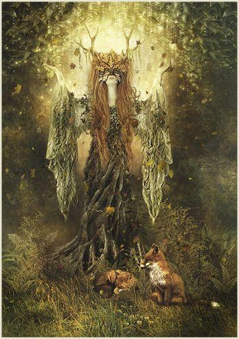 Lauren Kelly Small, 'Forest Spirit'