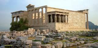 Erehteion Ancient Greek Architecture Acropolis Athens Acropolis