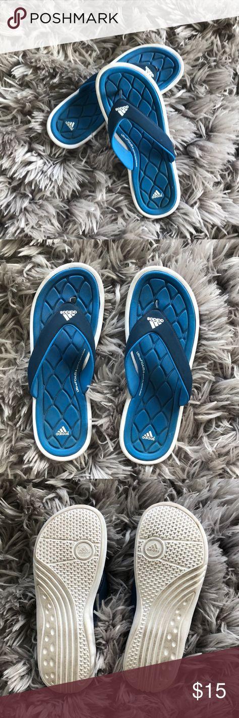 Adidas Flip Flops Size 9 | Adidas flip
