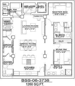 Bss 01 3738 Disaster Bunkers Barndominium Floor Plans Free Shed Plans Bunker
