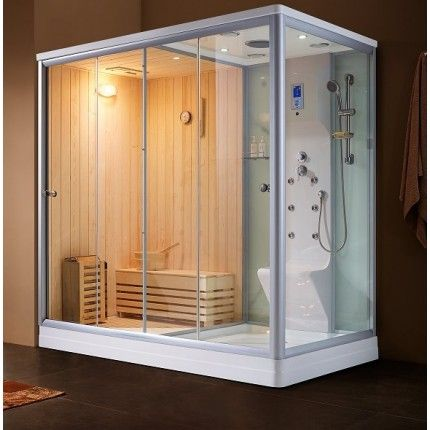 Steam Sauna Combination Home Steam Room Steam Spa Shower Kit