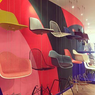 The Conran Shop Designer Design Paris Eames Vitra Chair Charlesandrayeames Parisian Style Shop Interiordesign S Charles Ray Eames Eames Ray Eames