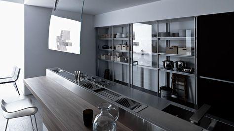 Valcucine   Sine Tempore | Valcucine | Pinterest | Basements, Kitchens And  House