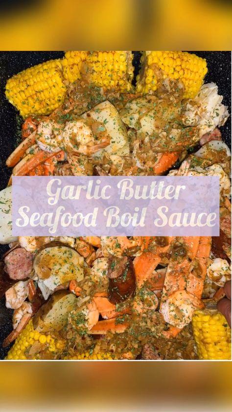 GARLIC BUTTER SEAFOOD BOIL - Razzle Dazzle Life