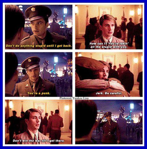 Bucky Barnes - Captain America: The First Avenger - Chris Evans and Sebastian Stan