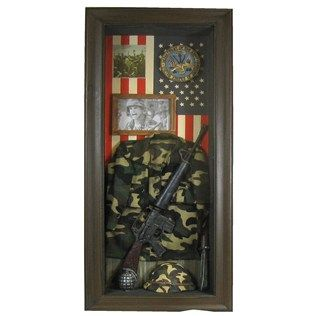 Army Shadow Box Military