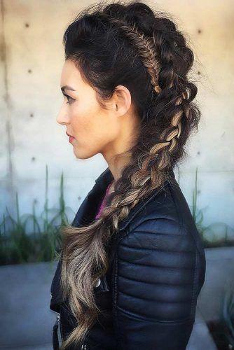 19+ Long hair viking hairstyles female inspirations