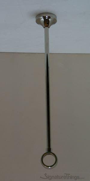 36 Adjustable Center Bracket Curtain Rod Holders Shower Rod
