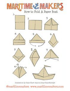 How to make a paper boat teacher stuff pinterest boating how to make a paper boat teacher stuff pinterest boating origami and origami boat malvernweather Choice Image