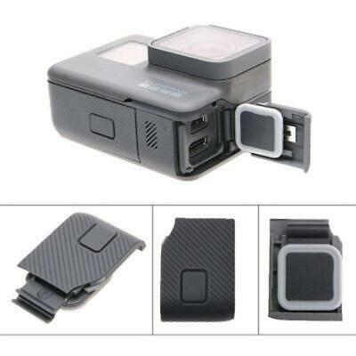 Black Side Door Cover Usb C Mini Hdmi Port Side Protector For Gopro Hero5 6 7 Ebay In 2020 Usb Gopro Lens Hdmi