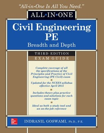 Civil Engineering All In One Pe Exam Guide Breadth And Depth