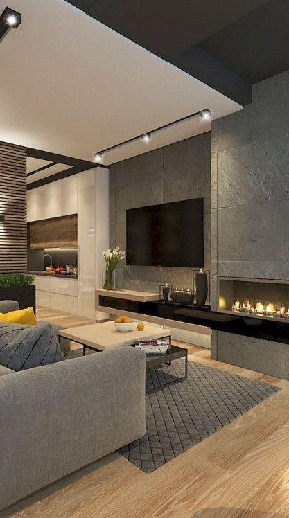 30 Charming Living Room Design Ideas Desain Interior Rumah Interior Rumah Desain Interior