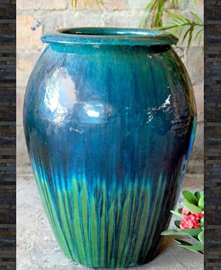 Ceramic Extra Large Water Jar Ten Thousand Pots Ceramica Artesanal Artesanal