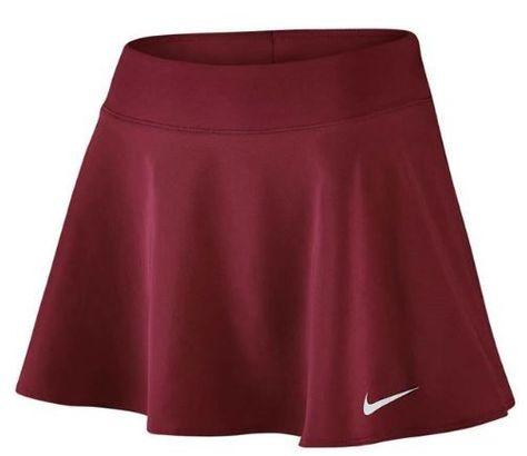 Nike Women S Court Pure Flouncy Tennis Skirt Red Tennis Skirt Tennis Outfit Women Tennis Skirt Outfit