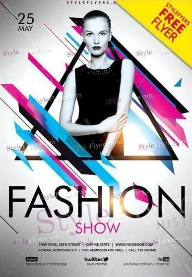 16 Fashion Show Flyer Templates In Word Psd Ai Eps Vector Fashion Show Invitation Fashion Show Poster Fashion Show Party