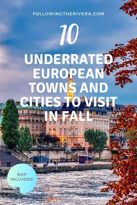 Visit at a time of year when the landscape is crisp, the scene is colorful and the temperatures are cooler. If you're thinking of visiting #europe in #fall here are 10 different destinations that make ideal fall #european breaks. #travel #traveltips #traveldestinations #travelideas #travelersnotebook #traveladvice #traveladviceandtips #traveltipsforeveryone #traveladdict #travelawesome #travelholic #europetravel #travelitinerary