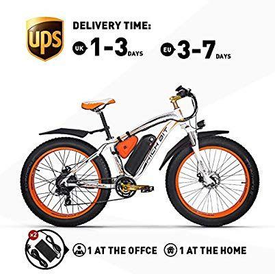 Rich Bit Rt022 Electric Bicycle 48v 17ah Lg Li Battery E Bike 1000w Brushless Motor Mechanical Disc Brake Shimano 21 Speed Mountain B Cosas Para Comprar Compras