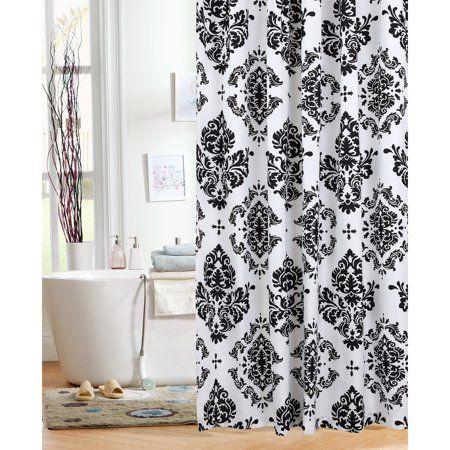 Home Farmhouse In 2019 Black Shower Curtains Cute Shower