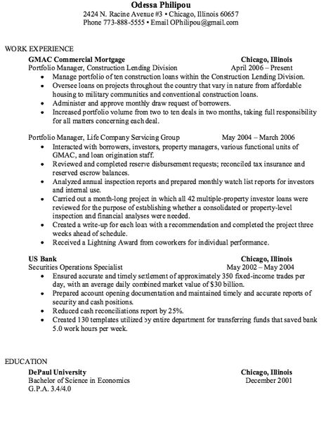 Guide Scannable Resume Samples - http\/\/exampleresumecvorg\/guide - scannable resume template