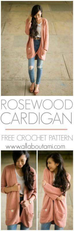 Pattern: Rosewood Cardigan