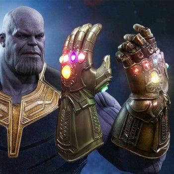 2018 Avenger 3 Infinity War Thanos Gauntlet Glove Resin Action 1:4 Figure Toys