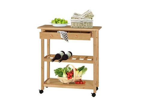Das moderne und schicke Regal KNOX aus FSC in Buche Farbe bietet 16 - küchenwagen mit schubladen